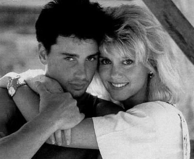 S prvním manželem Mattem Lattanzi