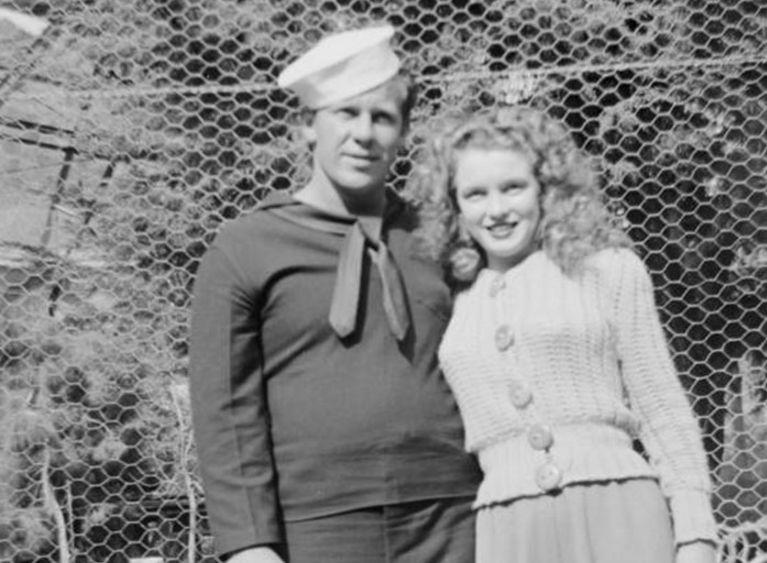 Marylin Monroe, rok 1943