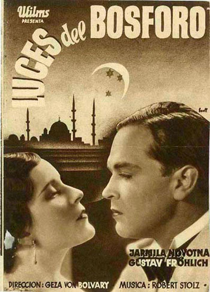 V roce 1933 s Gustavem Fröhlichem, hvězdou německého filmu a milencem Lídy Baarové, v německé romanci Noc velké lásky (Die Nacht der großen Liebe)