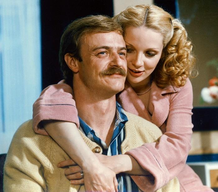S filmovou manželkou Zdenou Studenkovou v komedii S tebou mě baví svět