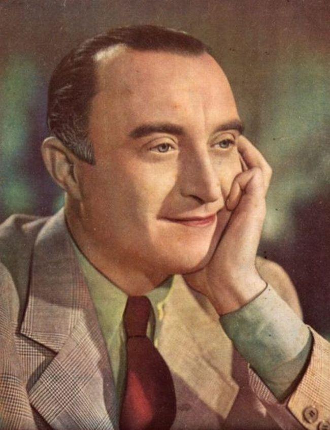 Jako zamilovaný spisovatel Jan Herold v roce 1940 v komedii Život je krásný