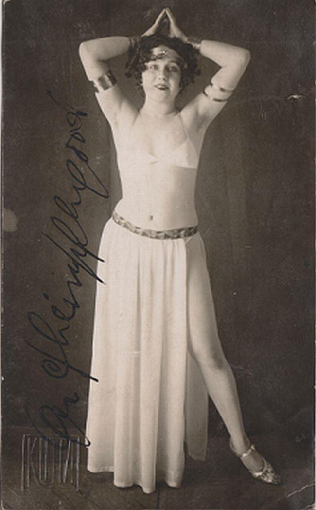 Olga Scheinpflugová v době, kdy Čapka okouzlila