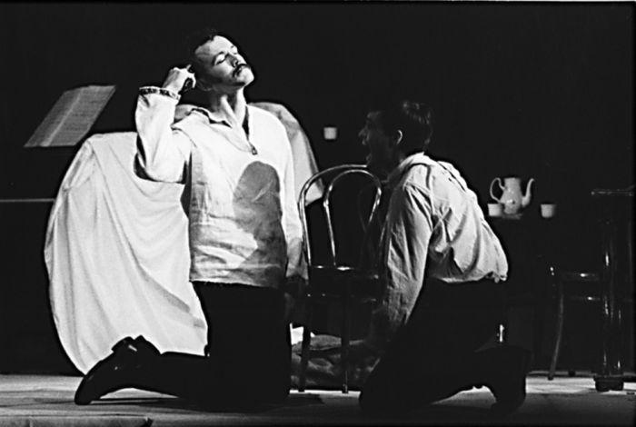 Lučkov v dramatické variaci Antonína Máši na motivy povídky I. S. Turgeněva Rváč – Divadlo E. F. Buriana, 1979