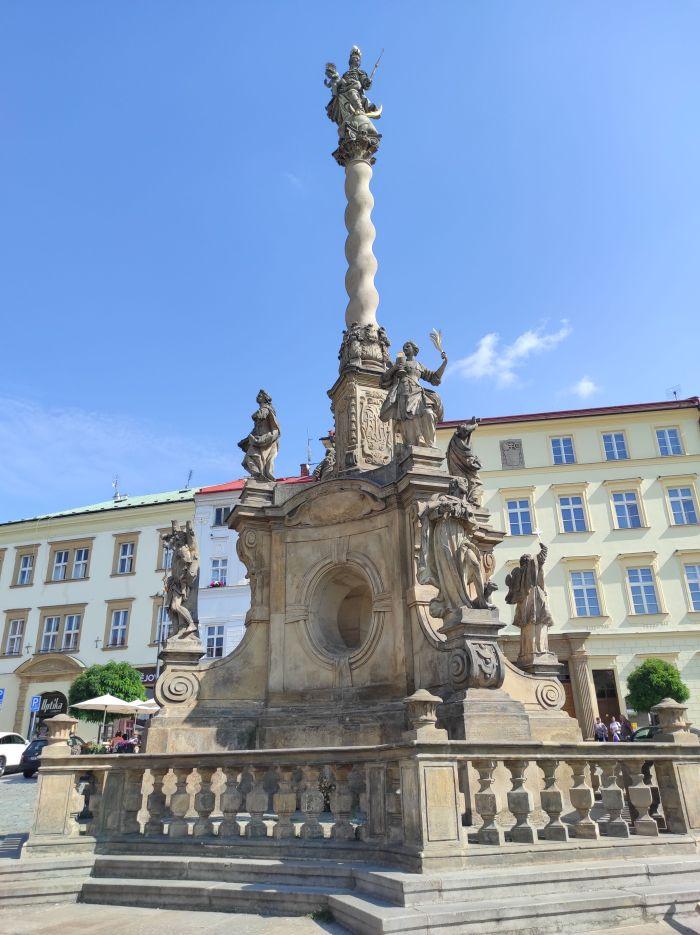 Olomouc Mariánský sloup