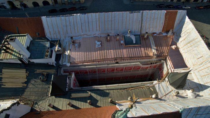 Olomouc - rekonstrukce radnice