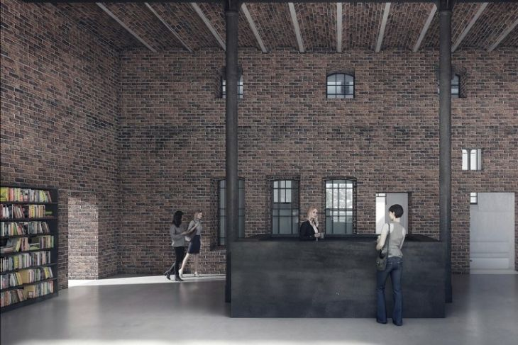 Galerie PLATO Ostrava - vizualizace