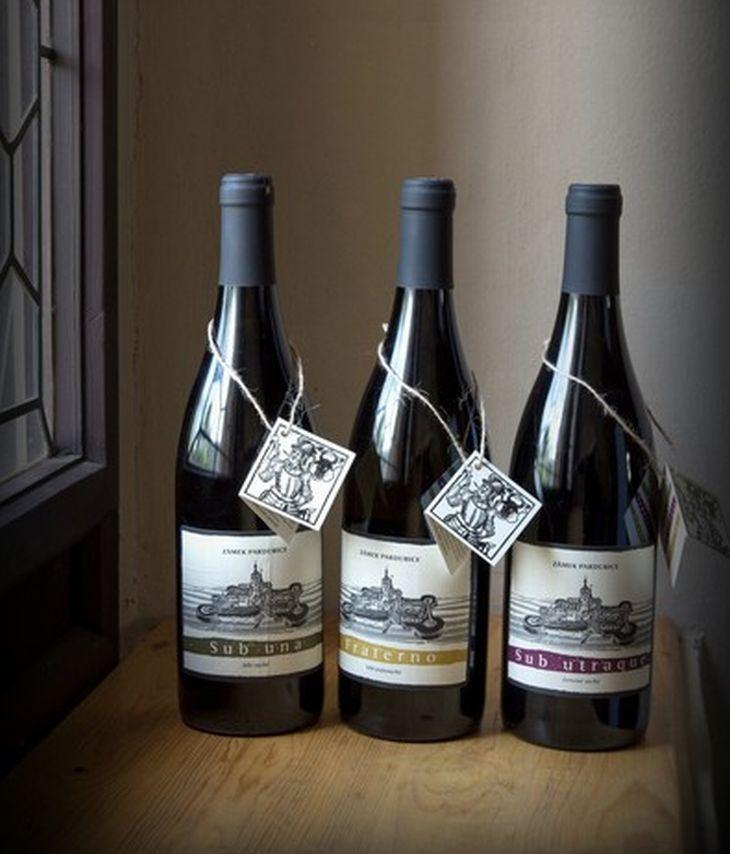 Pardubice - zámecké víno