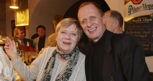 Se svou velkou láskou Jaroslavou Obermaierovou