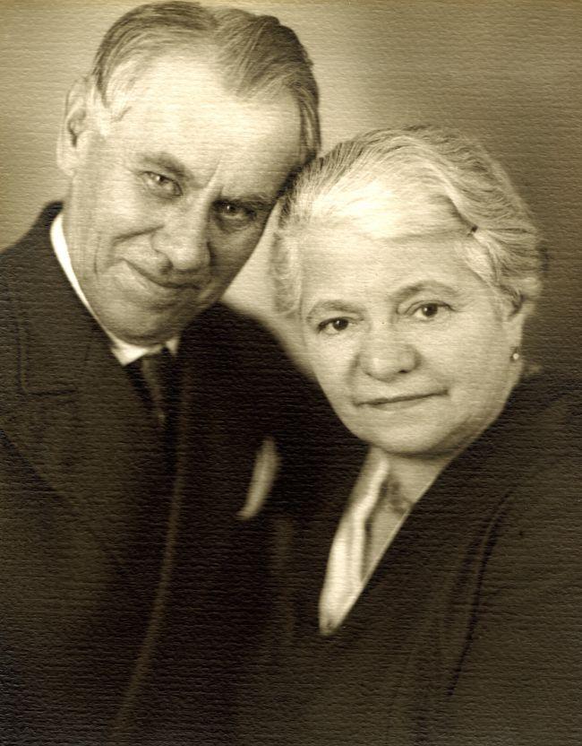 Slavní rodiče Ema a Ladislav Pechovi