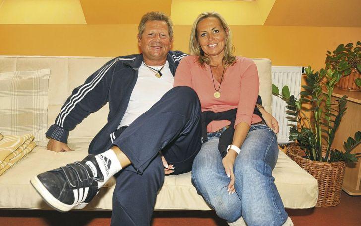 S nyní již bývalou manželkou Zuzanou Kratochvílovou