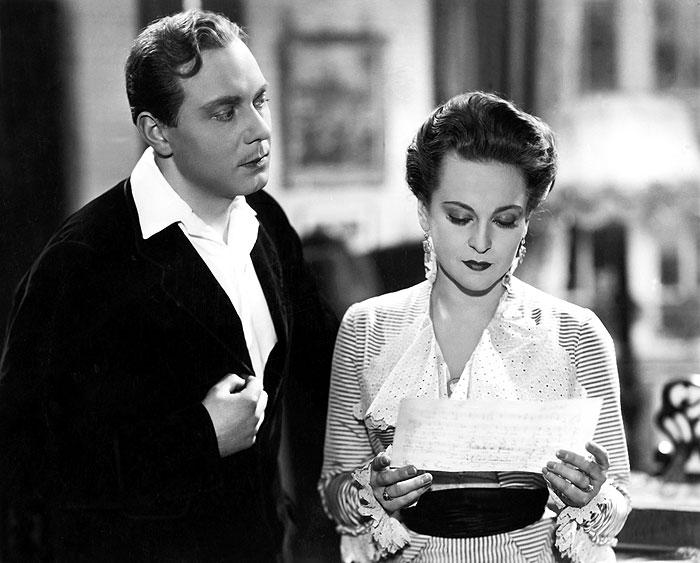 Stáňa Jarský a Helena Horníková (Zita Kabátová) v romantické komedii Vladimíra Slavínského Muži nestárnou – 1942