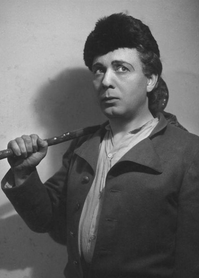 Honza ve slavné pohádce Jaroslava Kvapila Princezna Pampeliška – Národní divadlo 1948