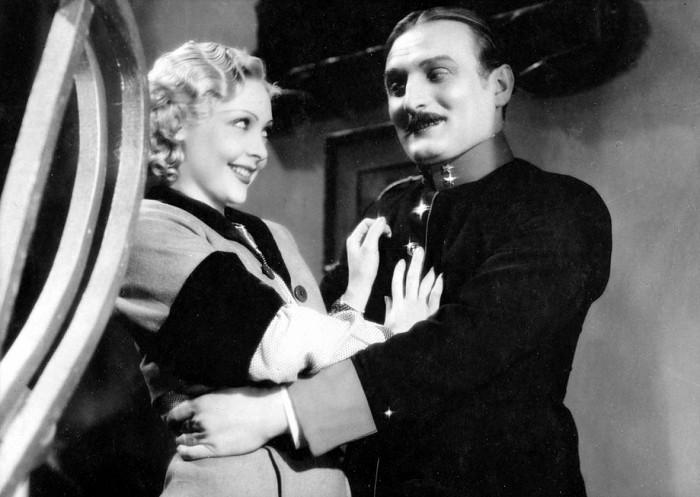S Trudou Grosslichtovou v roce 1935 v komedii Martina Friče Jedenácté přikázání