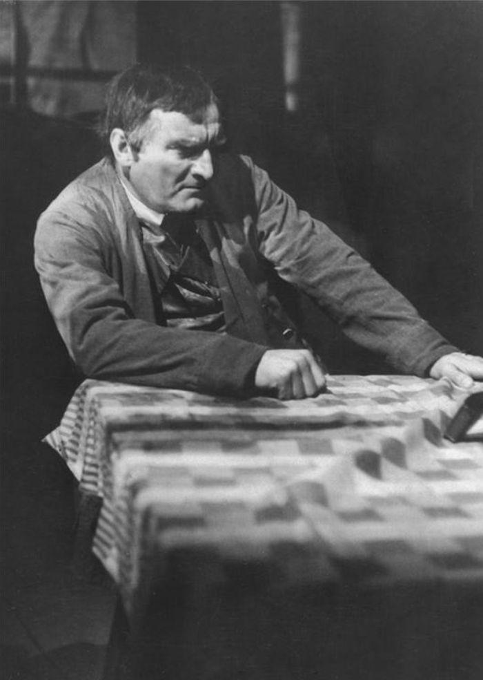 Vávra v dramatu bratří Mrštíků Maryša, na jevišti Národního divadla v roce 1948