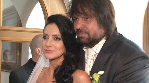S třetí manželkou Andreou má dceru Aničku