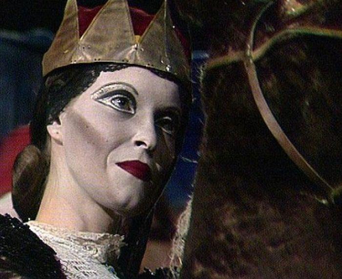 V roce 1985 v divadelním záznamu představení Šašek a královna