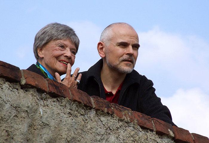 S Hartmutem Krugem v roce 2007 v seriálu Hraběnky