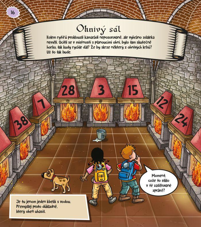 Rébusy pro děti: Velká hradní záhada