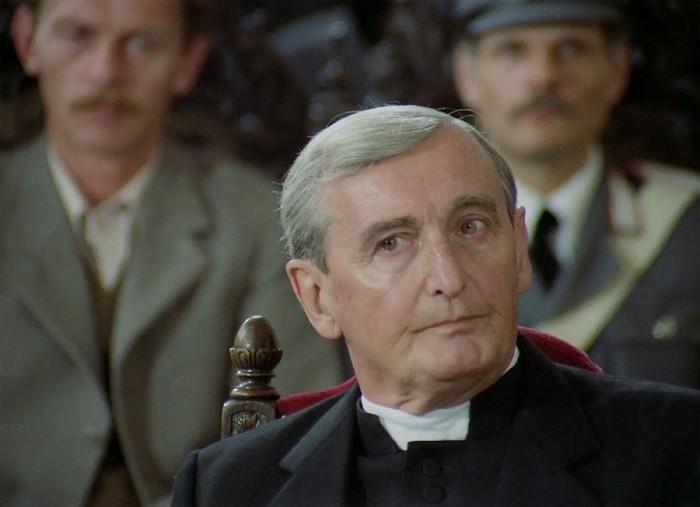Monsignore Zanetto v seriálu Dobrodružství kriminalistiky – 1992