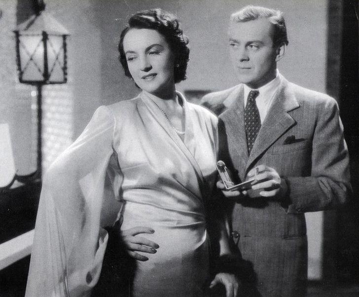 V roce 1941 s Karlem Högerem v psychologickém dramatu Gabriela
