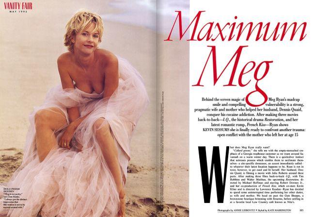 Sexsymbol v roce 1995 v magazínu Vanity Fair