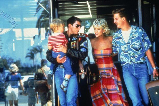 S Tomem Cruisem a Anthony Edwardsem ve slavném Top Gun