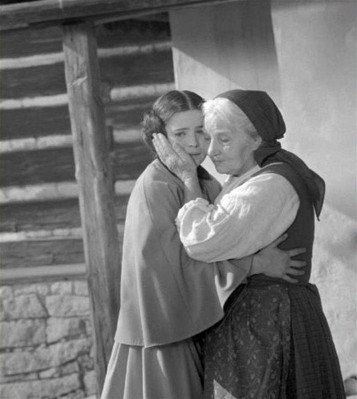S Jarmilou Kurandovou v televizní Babičce z roku 1971