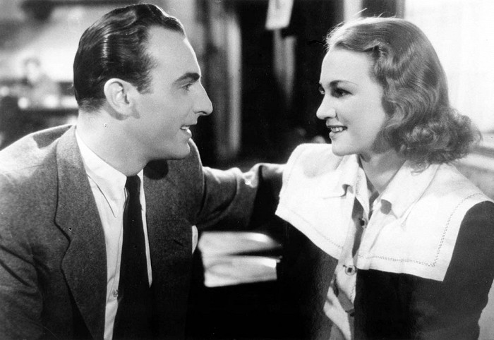S Adinou Mandlovou v roce 1940 v komedii Dva týdny štěstí