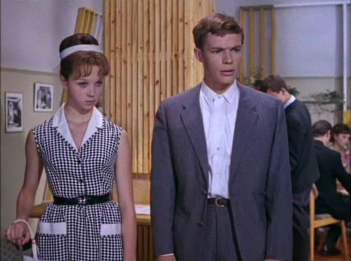 Natalja a Lev Prygunov v komedii Děti don-Kichota – 1965