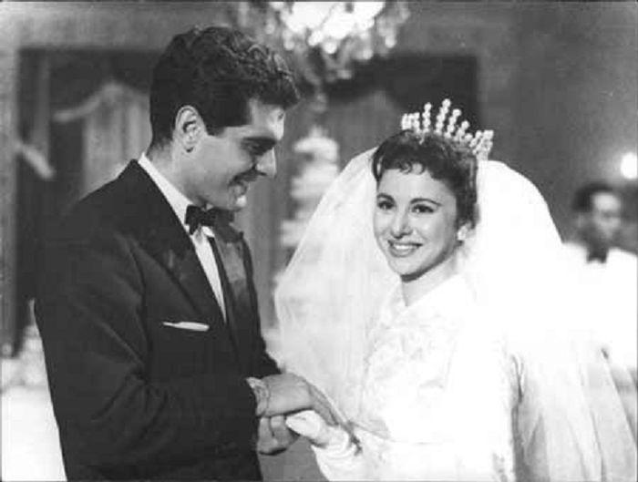 S manželkou Fetan Hamamah v roce 1959 v romantické komedii Sayedat el kasr - Dáma ze zámku