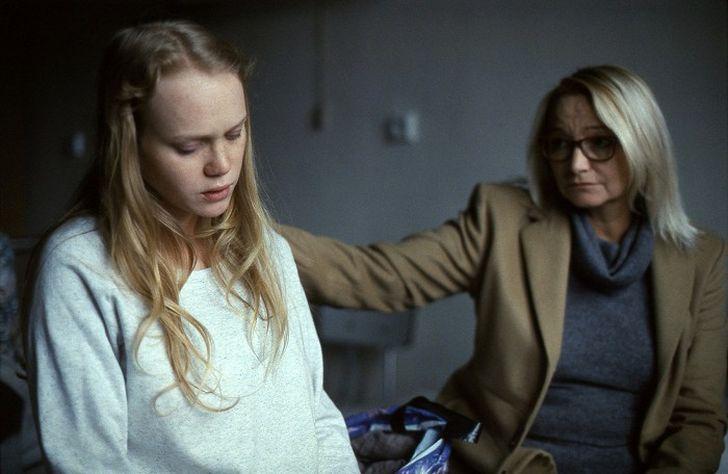 S filmovou dcerou Dominikou Morávkovou-Zeleníkovou v režijním debutu Terezy Nvotové Špína