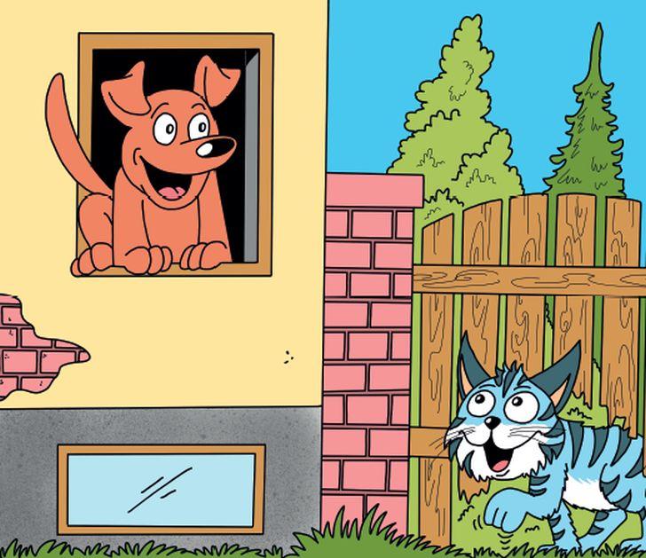 Skákal pes přes oves