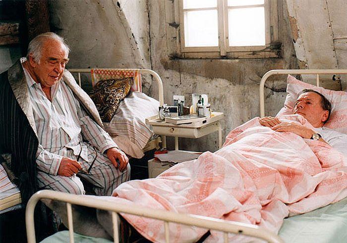 Krátce před smrtí, s Josefem Bekem v miniseriálu Pomalé šípy