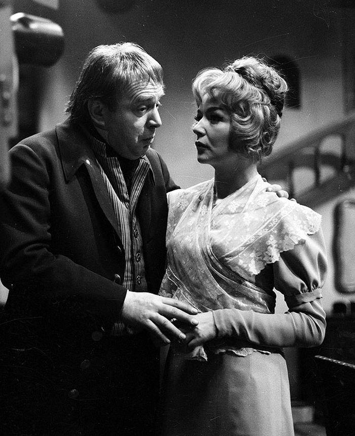 S Blankou Bohdanovou v roce 1966 v televizní inscenaci dramatu Honoré de Balzaca Evženie Grandetová