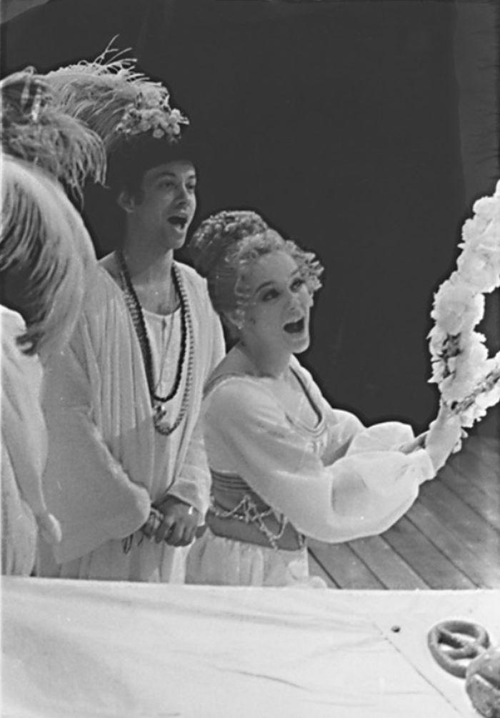 Hermie v Shakespearově Snu svatojánské noci – Divadlo Antonína Dvořáka Ostrava 1976