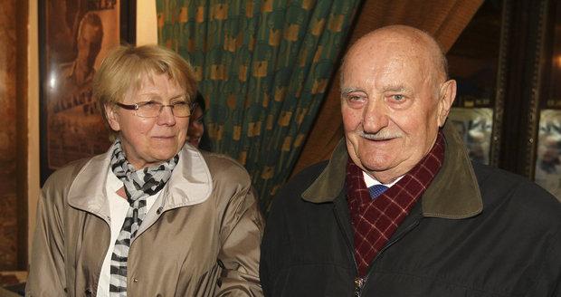 S manželkou Jaroslavou
