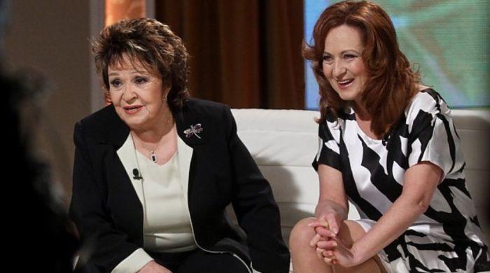 Dcera a matka – Simona Stašová a Jiřina Bohdalová – v pořadu televize Prima Zrcadlo tvého života