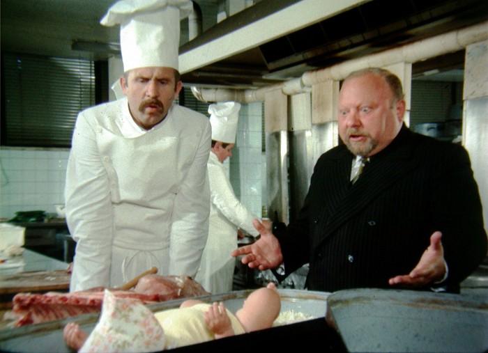 S Petrem Nárožným v komedii Což takhle dát si špenát