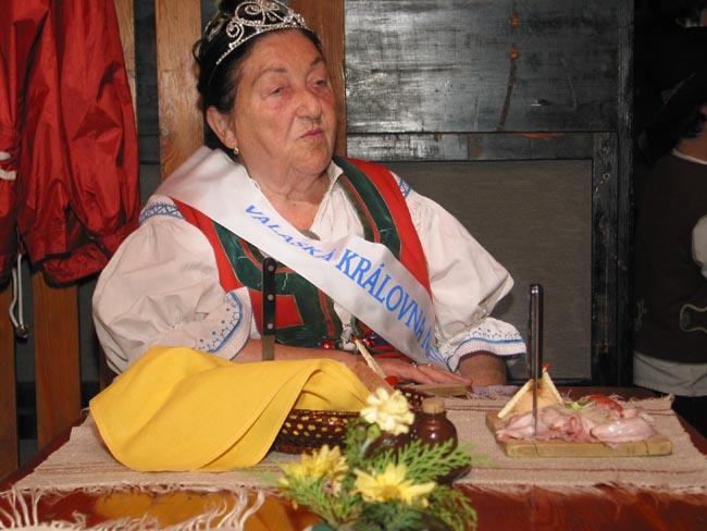 Valašská Královna matka