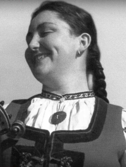 Jarmila Šuláková v roce 1961
