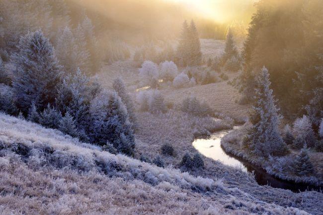 Údolí říčky Křemelná