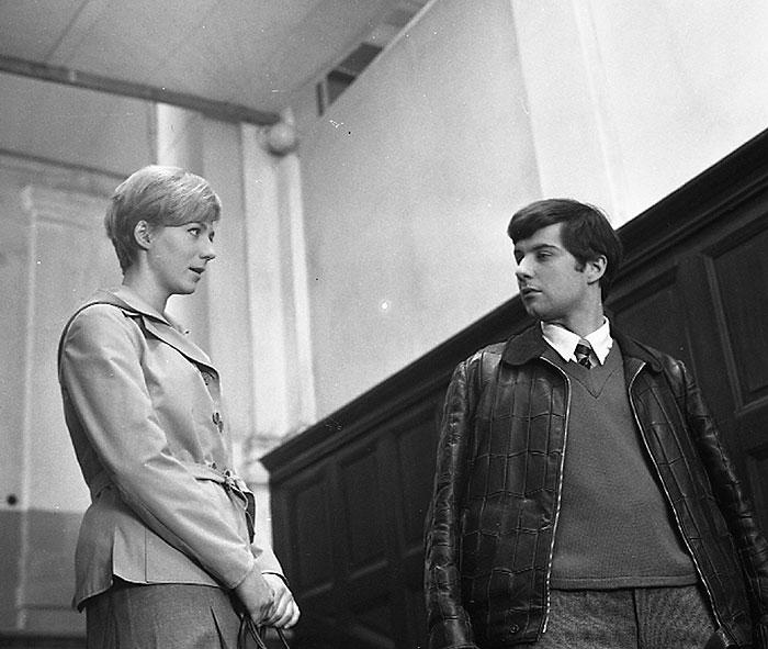 S Ladislavem Potměšilem ve slavném psychologickém dramatu režiséra Antonína Moskalyka z roku 1967 Dita Saxová