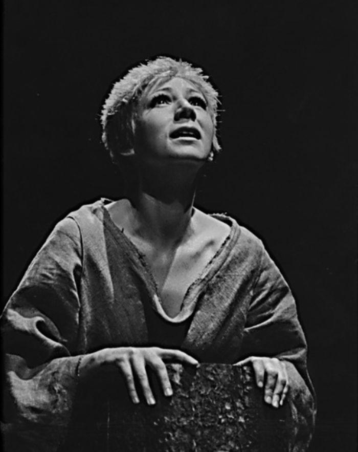Markétka v dramatu Friedricha Dürrenmatta Urfaust – Divadlo Rokoko 1976