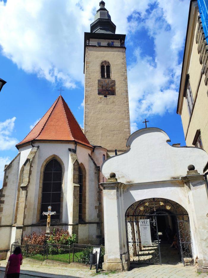 Telč kostel