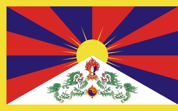 Tibet - vlajka