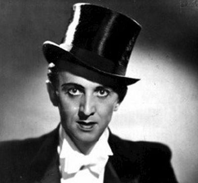 Český Fred Astaire v mládí