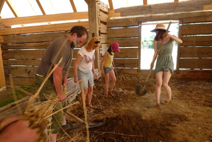 Trstěnice - stodola