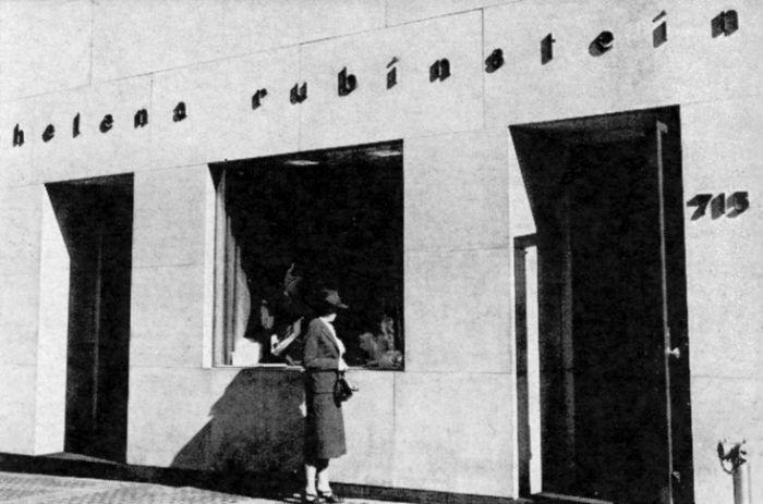 Helenin newyorský salon na 715 Fifth Avenue v roce 1941