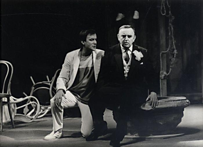 S Janem Novotným v roce 1984 v Molièrově dramatu Škola pro ženy