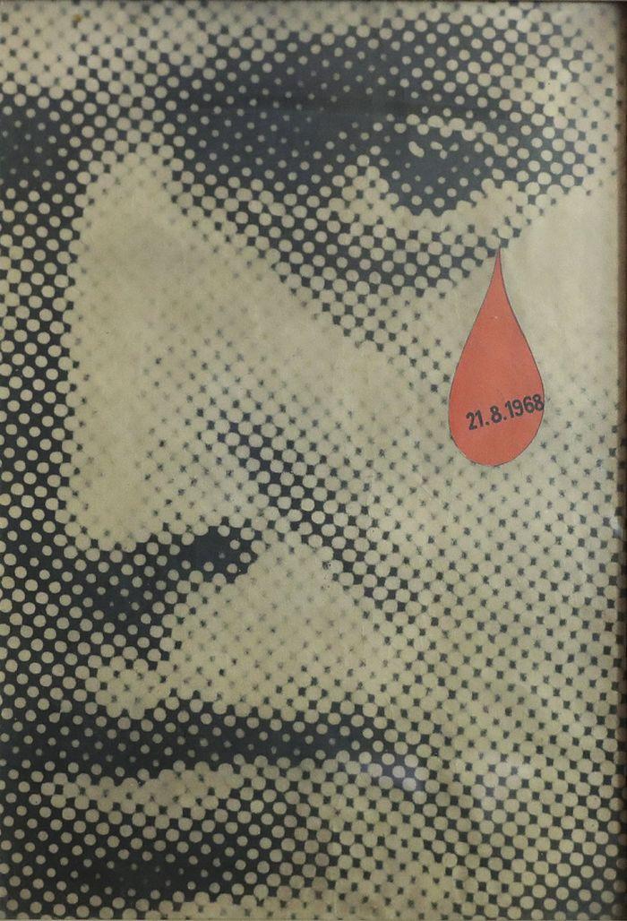 Plakát, který se stal symbolem okupace v srpnu 1968